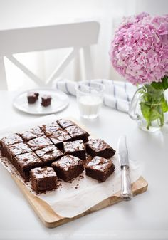 capturedcravings:  Espresso Brownies