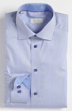 Eton Contemporary Fit Dress Shirt available at #Nordstrom