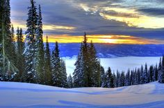Sunrise over Long Valley Idaho by Daveidaho on Etsy, $20.00