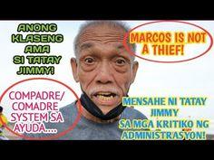 KWENTO NI TATAY JIMMY NUNG PANAHON NG MARTIAL LAW/ TOTOONG KWENTO NG MGA AKTIBISTA - YouTube President Of The Philippines, Presidents, Thankful, Baseball Cards, Youtube, Youtubers, Youtube Movies