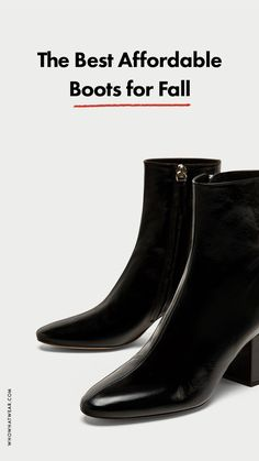 Affordable fall boots to shop now