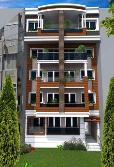 House Outer Design, House Outside Design, House Front Design, Modern House Design, Modern Architecture House, Residential Architecture, Architecture Design, Facade Design, Exterior Design