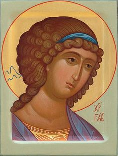 Icon of Holy Archangel Gabriel - Commemorated every Monday and on November 8/21…