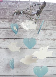 Hey, I found this really awesome Etsy listing at https://www.etsy.com/listing/275603152/doves-and-hearts-memorial-wind-chime