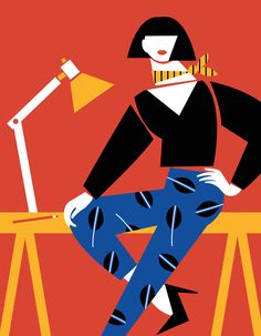 Lauren Rolwing | Work Attire #illustration #digitalillustration #art