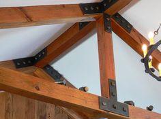 Log Home Designed Truss Plates Connectors Pinterest