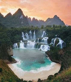 Top 10 Best Places to Visit in Vietnam - Tour To Planet Beautiful Places To Visit, Cool Places To Visit, Places To Travel, Travel Destinations, Places To Go, Beautiful Waterfalls, Beautiful Landscapes, Canon Photography, Travel Photography