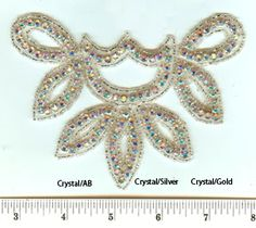 Check out the deal on 1110 Rhinestone Applique at Glitz and Glamour