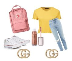 """""""Casual trend"""" by casa03 on Polyvore featuring Topshop, Converse, Fjällräven and Gucci Casual Trends, Converse, Topshop, Gucci, Polyvore, Image, Fashion, La Mode, Fashion Illustrations"""