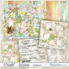 wonderful Spring/Easter Collection by karena design Bright Spring, Egg Hunt, Spring Collection, Happy Easter, Vintage World Maps, Bunny, Design, Products, Happy Easter Day