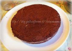 Pan di spagna al cioccolato fondente cottura microonde