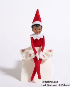 Girl Elf on a shelf