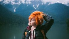 woman in black jacket scratching her head Orange hair woman in mountains Disco Intervertebral, I Have Missed You, Interview, Popular Magazine, Free High Resolution Photos, Strip, Perfect World, Photos Of Women, Image Hd