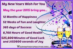 Daveswordsofwisdom.com: My New Years Wish For You.