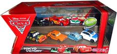 Disney Pixar CARS 2 TOKYO VICTORY Exclusive 7 pack set FRANK CLUTCHENSON DARREL CARTRIP FRANCESCO BERNOULLI LIGHTNING MCQUEEN W RACING WHEELS LEWIS HAMILTON PROFESSOR Z GREM ** For more information, visit image link.