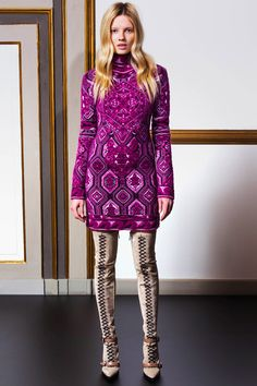 Relive the sensational style of the '60s in this Emilio Pucci look from the radiant Pre Fall 2014 Collection.