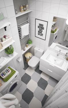 IKEA style. Hall and bathroom on Behance