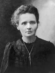 Marie Curie - a lefty too!