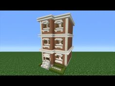 Minecraft Tutorial: How To Make A Town House - 2 - YouTube