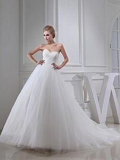 Manjulika - Бальное платье Тюль свадебном платье с Аппликации - RUB 18431,86руб.