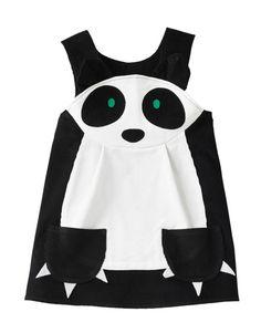 Panda girls play dress by wildthingsdresses on Etsy