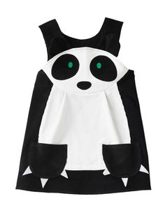 Panda girls play dress por wildthingsdresses en Etsy