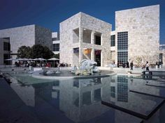 white fossils, ocean views, free admission, sunshine, cool breeze (The Getty Museum, LOS ANGELES)
