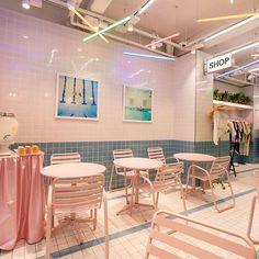 ☺️ @styleanada @pinkpoolcafe #stylenanda #stylenandapinkhotel #pinkpoolcafe #myungdong