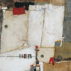 Collage art of Laura Lein-Svencner value contrast size contrast intensity contrast,