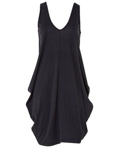 Curiously Draped Dress Metalicus