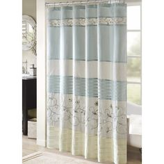 Darby Home Co Willshire Shower Curtain Color Yellow Size 72 H X