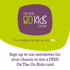 Fun days out, classes, sporting activites, cafés & restaurants... Save ££'s with the NEW On The GO Kids family card for fantastic discounts for places that offer a service, activity, class or food to children in Yorkshire