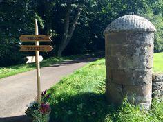 Sign of the the times - barn wedding - Wedderburn Barns