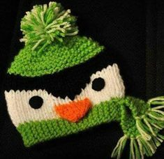 You have to see Penguin Beanie Size Years on Craftsy! - Looking for knitting project inspiration? Check out Penguin Beanie Size Years by member Woohoopepper. Loom Knitting, Baby Knitting, Knitting Patterns, Crochet Patterns, Crochet For Kids, Crochet Baby, Knit Crochet, Crochet Penguin, Knitting Projects