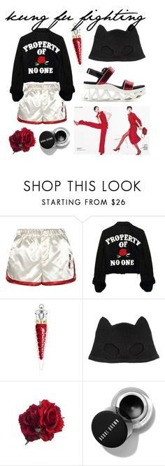 """""""kung fu fighting"""" by sydniwho on Polyvore featuring Tommy Hilfiger, Christian Louboutin, Silver Spoon Attire and Marc by Marc Jacobs"""
