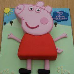 Peppa Pig cake - O Bolo foi baseado neste!