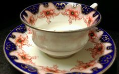 Antique Aynsley Porcelain Cup and Saucer | eBay