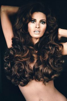 The 15 best dramatically long hairstyles of all time: Raquel Welch
