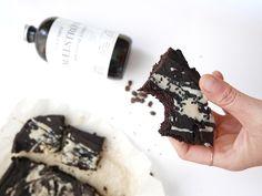 Brownies au café et au sésame