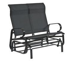 Havana Twin Seat Bench Glider