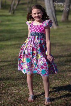 Bethany's Tween Fancy Party Dress | YouCanMakeThis.com