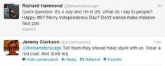 British people on Independence day, richard hammond, jeremy clarkson