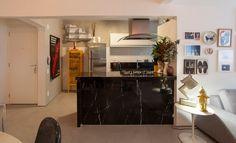 Open house - PedroThompson. Veja mais: https://casadevalentina.com.br/blog/detalhes/open-house--pedro-thompson-2817 #decor #decoracao #interior #design #casa #home #house #idea #ideia #detalhes #details #openhouse #style #estilo #casadevalentina #kitchen #cozinha