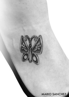 James Avery butterfly tattoo