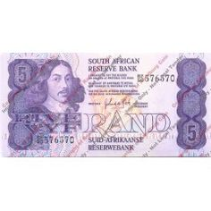 *#* GPC De Kock 2nd Issue - Five Rand UNC Note *#*