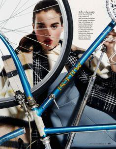 Cycling and Fashion.
