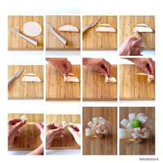 Zo maak je een DutchBento bloemetje van vleeswaren voor in de lunchtrommel. Met deze stap voor stap uitleg en foto tutorial een makkie!