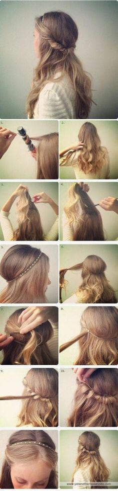 peinados sencillos para todos los dias