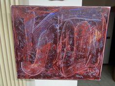 Basso Distorto Acriilico e china su tela