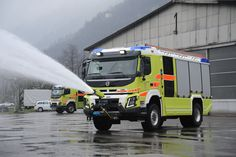 Vehicle of the month detail - Rosenbauer Automobile, Ford, Firetruck, Evening Sandals, Emergency Vehicles, Firefighting, Fire Engine, Venom, Motorhome